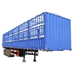 Very Cheap Cargo Trailer for Tract Truck 10-100ton pictures & photos