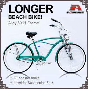 Alloy Frame Longer Beach Cruiser Bike for Men (ARS-2686S) pictures & photos