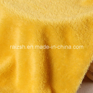 Polyester Weft Dyeing Beiji Velvet Fabric for Clothes / Toys pictures & photos