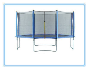 Commonly Used Models: 12FT Trampoline Bounge Jumping Safety Enclosure Net pictures & photos