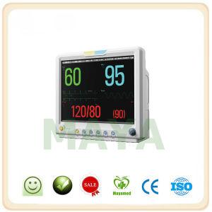 My-C039 12 Lead ECG+NIBP+SpO2+Pr+Resp+Temp+Printer+Etco2+IBP ICU Patient Monitor pictures & photos