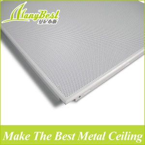 Fireproof 300*300/600*600 Aluminum Ceiling Interior Roof Tiles pictures & photos