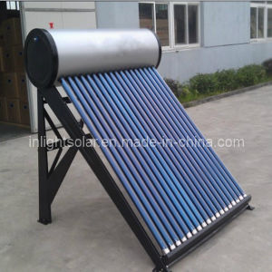 Silver PVDF Plate Passive Solar Hot Water Heater pictures & photos