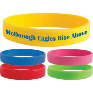 Promotional Logo Printed Silicone Wrist Band for Events pictures & photos