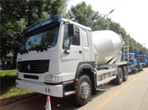 Sino Truck HOWO 10 Cubic Meters Mobile Concrete Truck Mixer