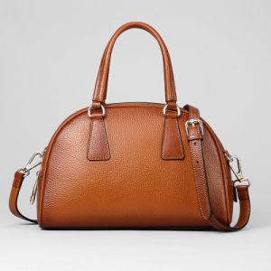 Handmade Online Smooth Faux Leather Korean Handbag (XD140080)