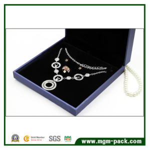 Wholesale PU Leather Plastic Jewelry Set Box pictures & photos