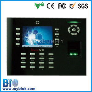 Competitive and Biometric Fingerprint Time Identification Machine (HF-Iclock680)