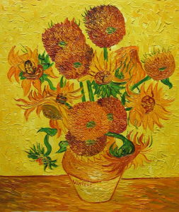 Sun Flower From Gogh, Vincent Van pictures & photos