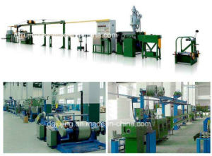 Cable Jacket Sheath Extrusion Line Cable Making Machine for Lsoh Cable pictures & photos