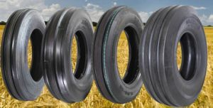 4.00-14 5.00-15 6.50-16 7.50-18 9.5L-15 11L-15 10.00-16 11.00-16 Three Rib Design / Four Rib Design Front Tractor Tyre (F-2) pictures & photos