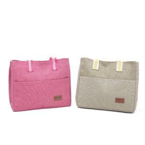 Top Quality Cotton Canvas Lunch Bag pictures & photos