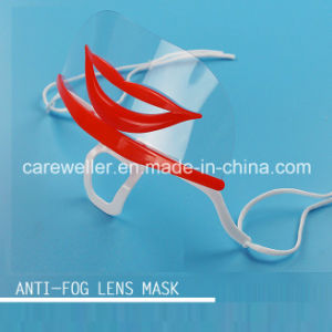 Double-Side Anti-Fog Plastic Face Mask (CW-CS101) pictures & photos