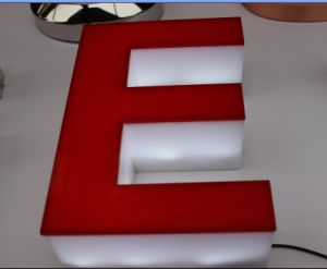 High Luminunce LED Acrylic Sign Letters pictures & photos