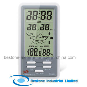 Hygro-Thermometer Clock (DC801) pictures & photos
