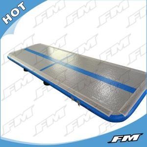 Customized Blue Surface Inflatable Air Tumble Track Gymnastic Training Mat pictures & photos