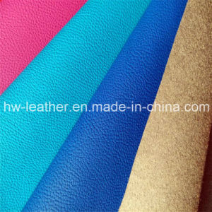 Furniture Microfiber Leather Hw-578 pictures & photos