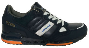 Athletic Men Leather Sports Shoes Comfort Sneakers (815-2441) pictures & photos