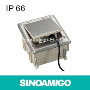 IP66 Water Proof European Tight Floor Socket Box pictures & photos
