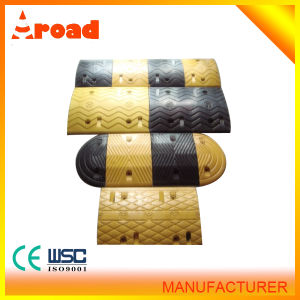 Traffic Facility Rubber Speed Hump with CE pictures & photos