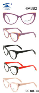 Handmade Colorful Cat Multi Color Acetate Eyeglasses (HM882) pictures & photos
