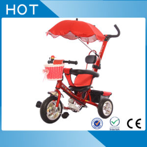 Three Wheeler Children Bicycle Baby Tricycle with Umbrella pictures & photos