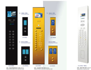 Hairline Stainless Steel Passenger Elevator with Germany Technology pictures & photos