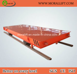 20T Running on Railway Transfer Flat Cart with CE pictures & photos