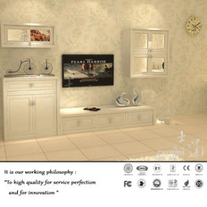 White Colour TV Cabinet for Living Room (ZH-1051) pictures & photos