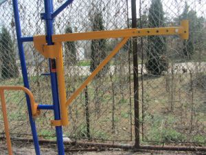 Powder Coated Steel Frame Scaffolding End Bracket (FF-202) pictures & photos