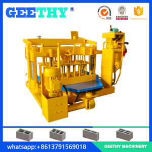 Qmy4-30 Small Mobile Concrete Block Machine pictures & photos
