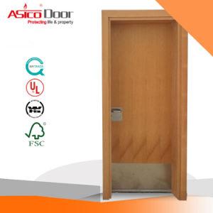 Wooden Fire Door Safety Door/Wood Door with British BS476 Certified pictures & photos