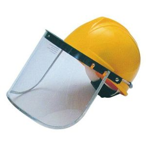 Safety Visors Including Hard Hat Ear Defenders and Wire Mask pictures & photos