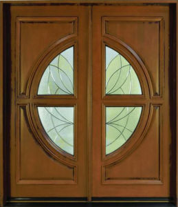 Solid Timber Double Main Entrance Door pictures & photos