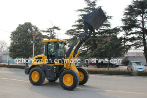 Hongyuan Brand CE Certificated Articulated 1.6 Ton Compact Loader pictures & photos