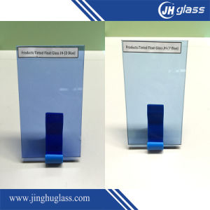 3mm - 10mm Manufacture Customized Dark Blue Tinted Glass for Building pictures & photos