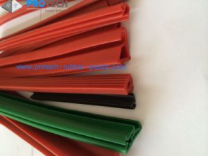 Silicoe Rubber Extruded Seal/ Silicone Extrusions/ Silicone Profile pictures & photos
