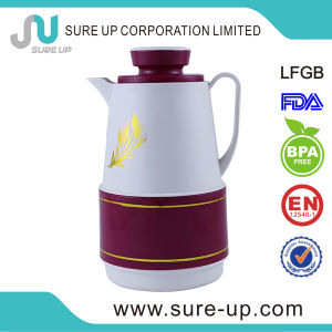 Red Middle East Arabic Plastic Flask Coffee Tea Jug (JGHK) pictures & photos