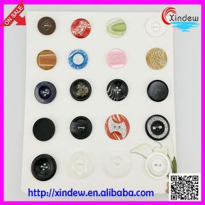 Women Fashion Coat Buttons pictures & photos