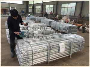 Pre-Galvanized Scaffolding Tubular and Angle Cross Brace pictures & photos