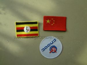 Flag Badge Garment Accessories Decoration Embroidery Patch pictures & photos