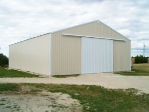 Prefab Light Steel Structure Storage Fitting for Amercia (KXD-92) pictures & photos
