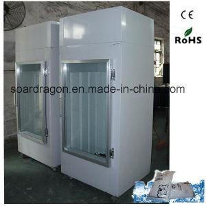 Freezer Ice Merchandiser with Single Glass Door pictures & photos