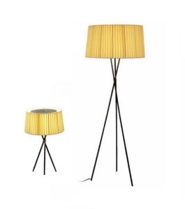 Modern Metal Table and Floor Lamp with Fabric Shade (WH-581) pictures & photos