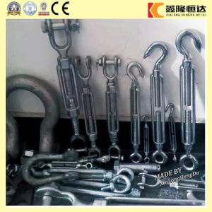 Carbon Steel Drop Forged Galvanized Heavy Duty Wire Rope Turnbuckles pictures & photos
