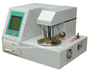 Sampling Type Automatic Portable Flash Point Tester pictures & photos