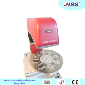 20W Small Size Fiber Laser Marking Machine for Rotate Marking pictures & photos