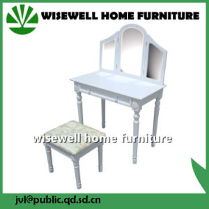 Wooden Dressing Table Stool for Bedroom (W-HY-081) pictures & photos