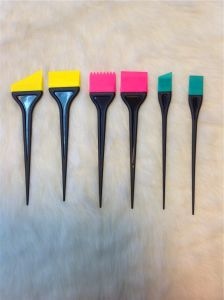Various Silicon Tint Brush Silicon Hair Color Brush (T024) pictures & photos