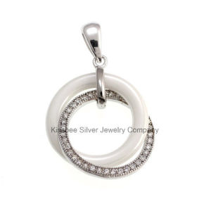 Ceramic 925 Sterling Silver Jewellery Pendant (P20047) pictures & photos